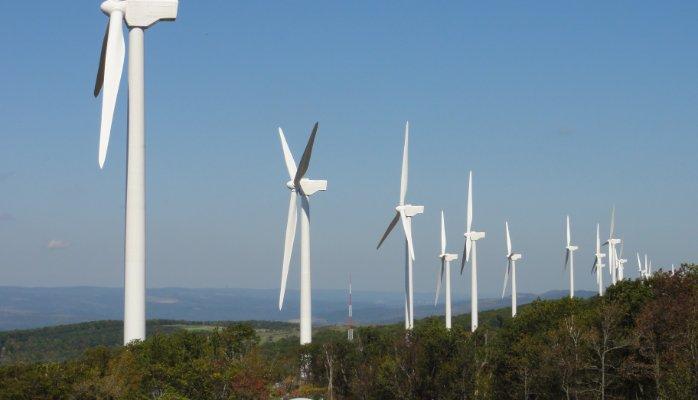 Turbines on Hills